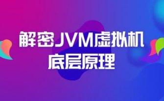 Java:解密 JVM 虚拟机底层原理